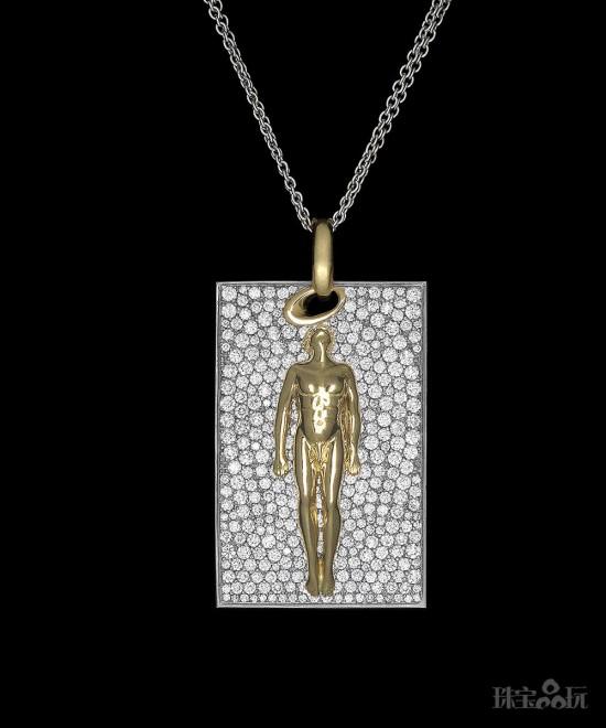 Maria Kondakova:每个人都有一双隐形的翅膀-创意珠宝