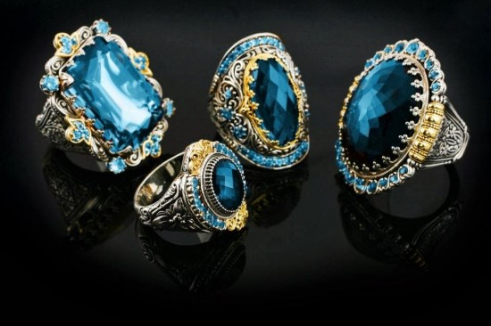 Konstantino:海蓝珠宝风