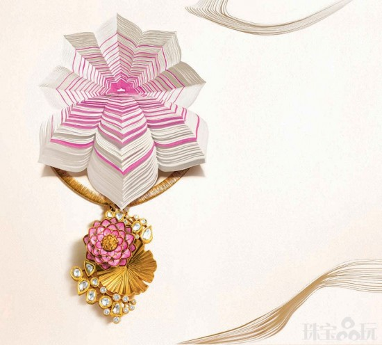 Zoya珠宝:圣洁莲花-珠宝设计【哇!行业大师灵魂之作】