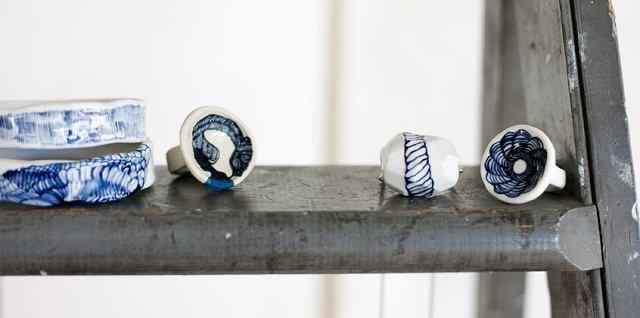 goldenink:陶瓷饰品-创意珠宝