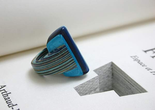 Jeremy May 从书籍中创造的珠宝-创意珠宝