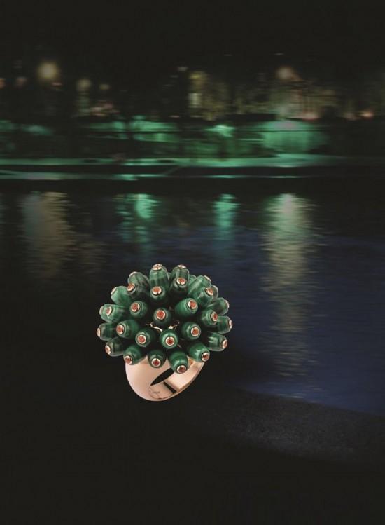 古典气质十足 超模Irina Nikolaeva出演Paris Nouvelle Vague珠宝大片
