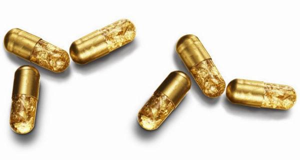 烧钱的黄金药丸-创意珠宝