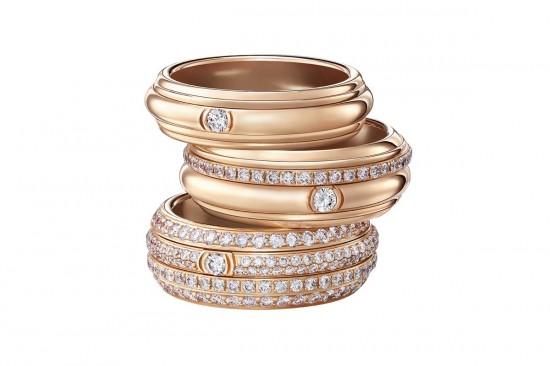 旋转幸福 伯爵(Piaget)Possession新品婚戒-珠宝首饰展示【行业精选】