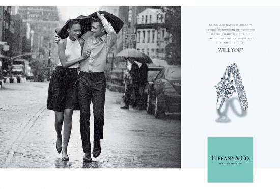 Tiffany & Co.最新Will you系列广告大片