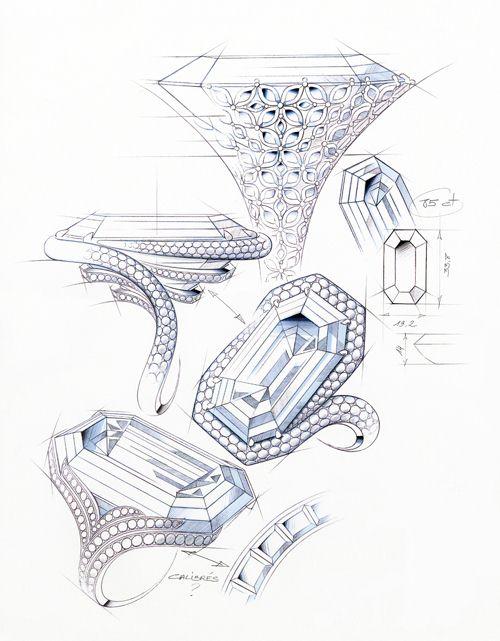 比鸽子蛋还大 85.28克拉萧邦巨钻亮相-珠宝首饰展示图【行业经典】