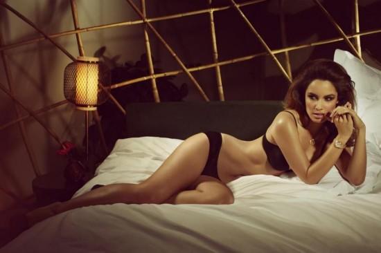 Berenice Marlohe拍摄OMEGA 2013最新形象广告-珠宝首饰展示【行业精选】