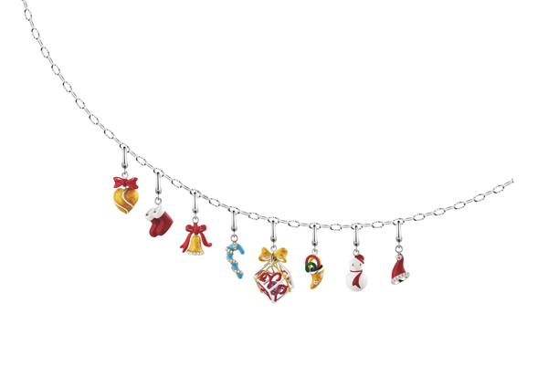 """""""链""""上TA  TSL/谢瑞麟2010圣诞新品-珠宝首饰展示图【行业经典】"""