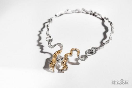 Soie Dior:最璀璨的缎带(二)-精美珠宝【秘密:适合高贵女人的珠宝】