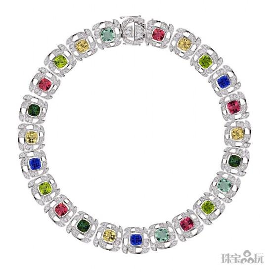 绽放春意 Boodles推出全新彩色宝石珠宝系列-精美珠宝【秘密:适合高贵女人的珠宝】
