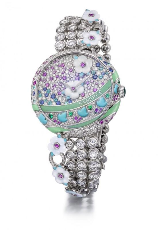 绽放自然之美 Fabergé Summer in Provence高级珠宝系列
