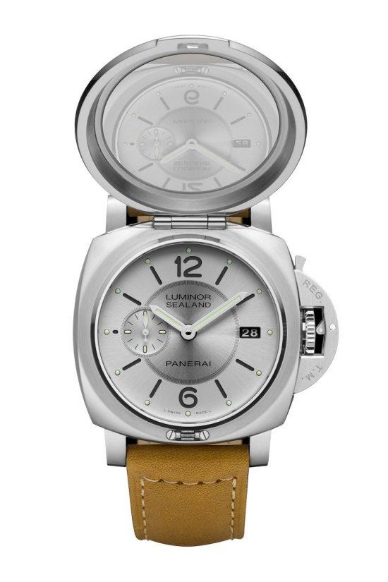 沛纳海(Panerai)全新Luminor 1950 Sealand狗年生肖腕表-珠宝首饰展示图【行业经典】