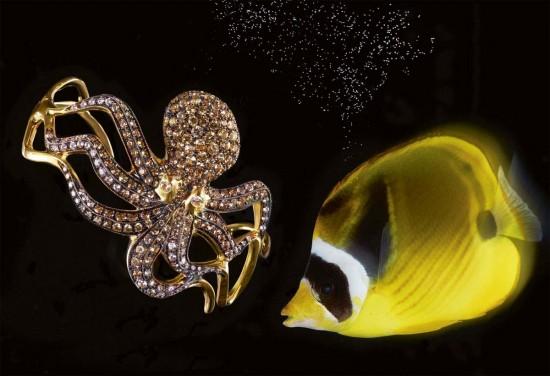 沉落到海底的高级珠宝