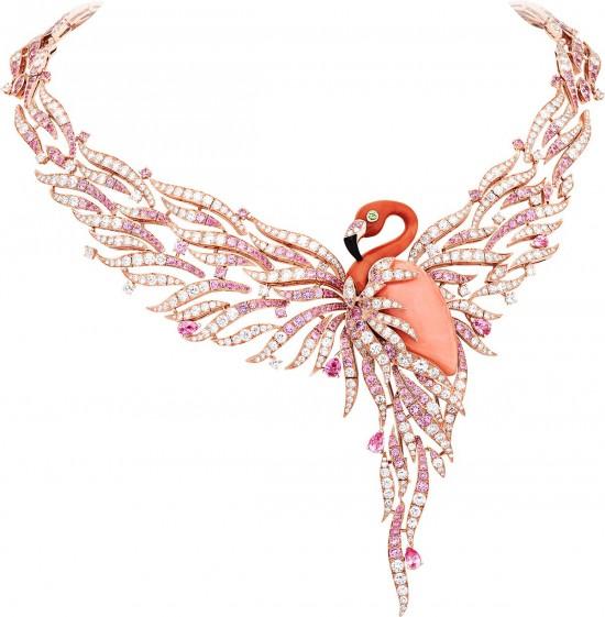 梵克雅宝(Van Cleef & Arpels)带你游历梦幻海洋-精美珠宝【秘密:适合高贵女人的珠宝】