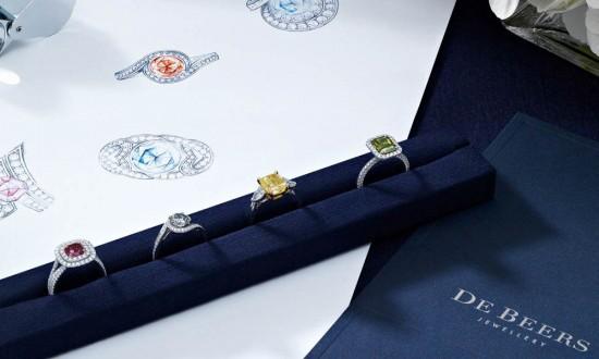 戴比尔斯(De Beers):光影大师-精美珠宝【秘密:适合高贵女人的珠宝】