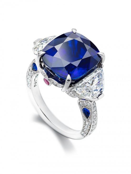 Gübelin:典藏级蓝宝杰作-精美珠宝【秘密:适合高贵女人的珠宝】