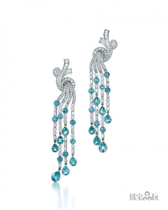 海洋之美 蒂芙尼(Tiffany)2015 Blue Book顶级珠宝系列-精美珠宝【秘密:适合高贵女人的珠宝】