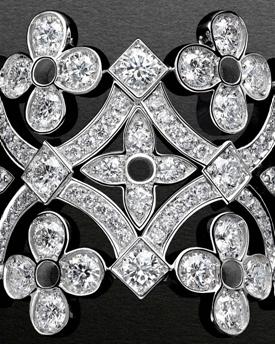 优雅蕾丝 路易威登Dentelle De Monogram珠宝系列