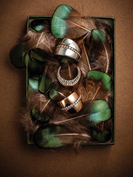 珠宝大片:羽毛与珠宝-精美珠宝【秘密:适合高贵女人的珠宝】