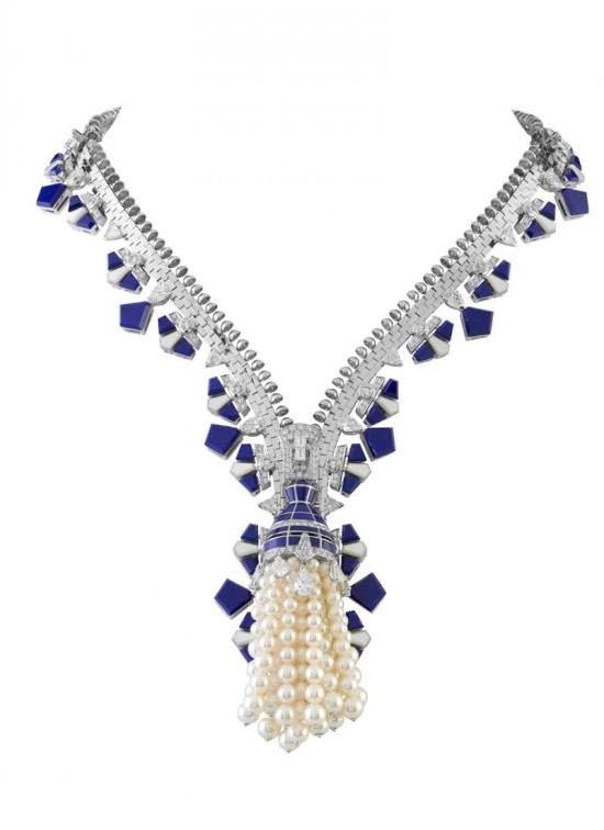 Van Cleef & Arpels:爱情拉链-精美珠宝【秘密:适合高贵女人的珠宝】