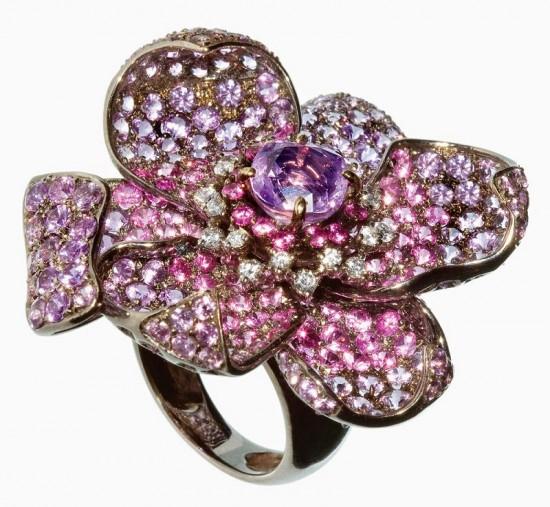 Missbach:珠宝之花-精美珠宝【秘密:适合高贵女人的珠宝】