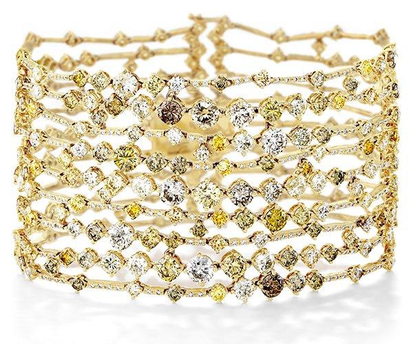 戴比尔斯(De Beers)Arpeggia系列珠宝-珠宝首饰展示【行业精选】