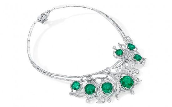 Boodles Greenfire祖母绿高级珠宝套装-精美珠宝【秘密:适合高贵女人的珠宝】