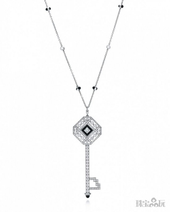 Tiffany Keys:用钥匙打开女人心扉-精美珠宝【秘密:适合高贵女人的珠宝】