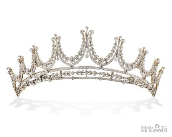 华贵优雅的新娘皇冠-精美珠宝【秘密:适合高贵女人的珠宝】