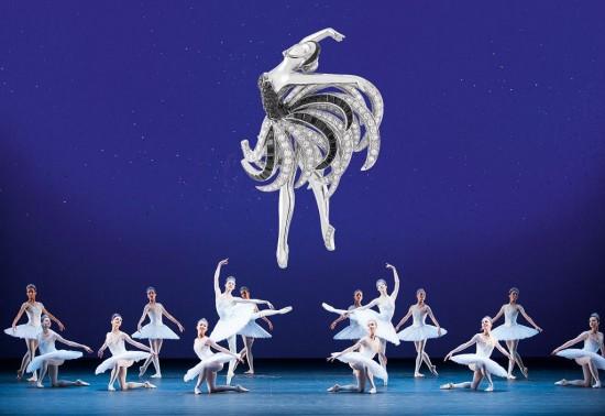 梵克雅宝(Van Cleef & Arpels):邂逅芭蕾舞-精美珠宝【秘密:适合高贵女人的珠宝】