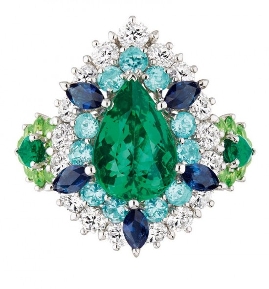 缤纷绚烂 Cher Dior高级珠宝系列