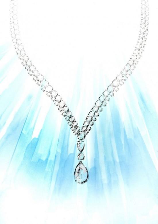 柔情似水 De Beers全新PHENOMENA系列高级珠宝