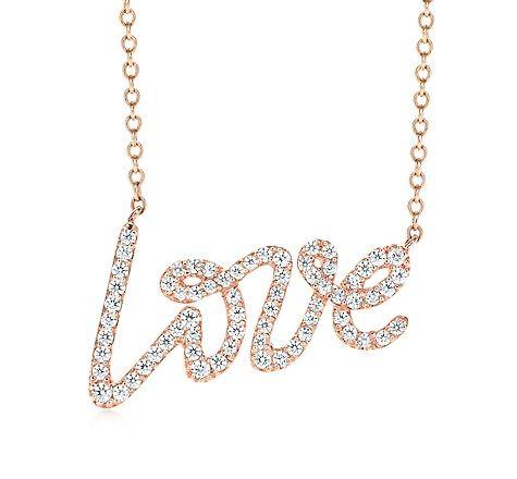 情人节礼物:Tiffany Paloma Picasso项链-珠宝首饰展示【行业精选】