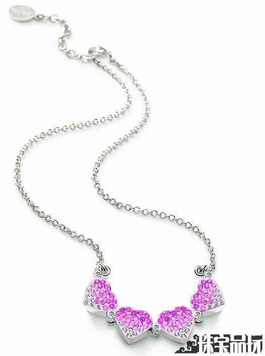 2011情人节最浪漫的礼物:全新Heart4Heart项链-珠宝首饰展示【行业精选】