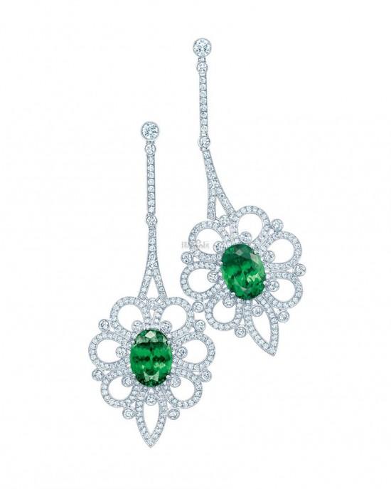 色彩斑斓的蒂芙尼-精美珠宝【秘密:适合高贵女人的珠宝】