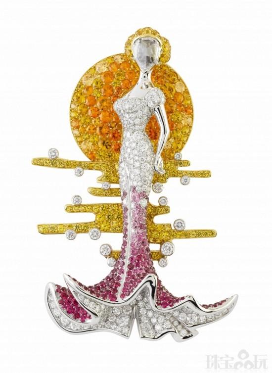 Van Cleef & Arpels:玩味传奇舞会-精美珠宝【秘密:适合高贵女人的珠宝】