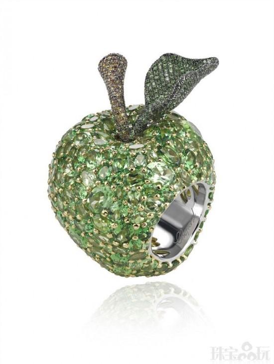Chopard:青苹果的滋味-精美珠宝【秘密:适合高贵女人的珠宝】