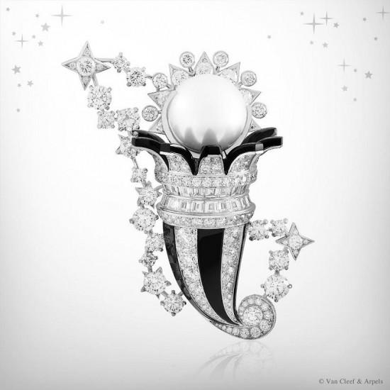星空遐想 Van Cleef & Arpels十二星座高级珠宝系列-精美珠宝【秘密:适合高贵女人的珠宝