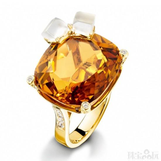 伯爵(Piaget):鸡尾酒的诱惑-精美珠宝【秘密:适合高贵女人的珠宝】