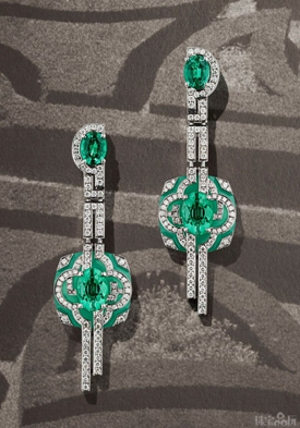Louis Vuitton用珠宝纪录美景-精美珠宝【秘密:适合高贵女人的珠宝】