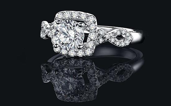 方形钻石戒指怎么选,方形钻石戒指