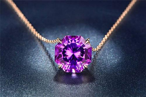 紫水晶真假,紫水晶