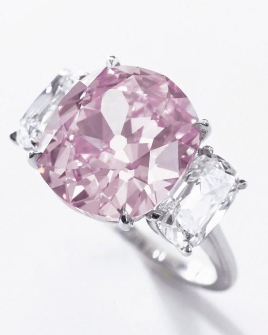 重达8.72克拉的罕见粉红钻石-珠宝首饰展示图【行业经典】