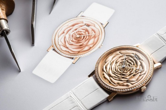 Piaget:表盘里的玫瑰园-珠宝首饰展示图【行业经典】