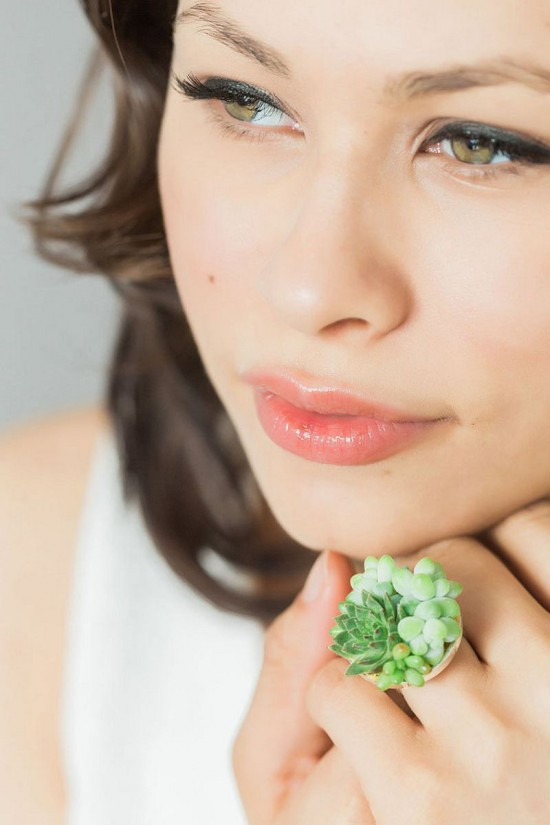 Susan McLeary:多肉植物戴上身