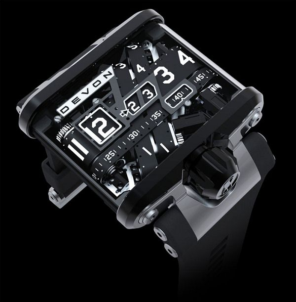DEVON WORKS 赛车腕表-时尚珠宝设计【行业顶级】