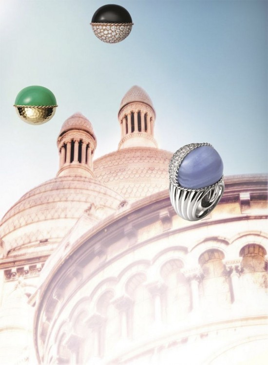 古典气质十足 超模Irina Nikolaeva出演Paris Nouvelle Vague珠宝大片-珠宝首饰展示【行业