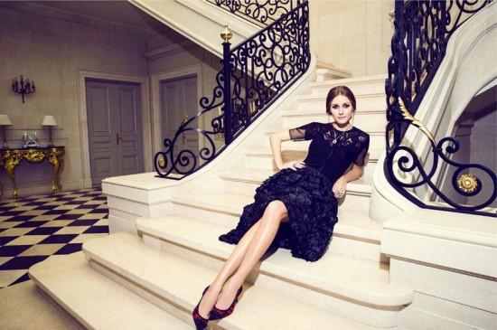 名模Olivia Palermo为Carrera y Carrera拍摄广告特辑