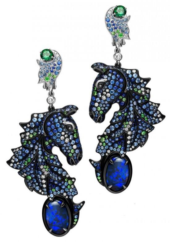 TTF Haute Joaillerie中国生肖马主题珠宝-珠宝设计【哇!行业大师灵魂之作】