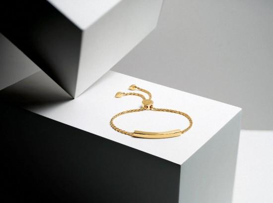 演绎个性风格 Monica Vinader Linear手链系列-创意珠宝
